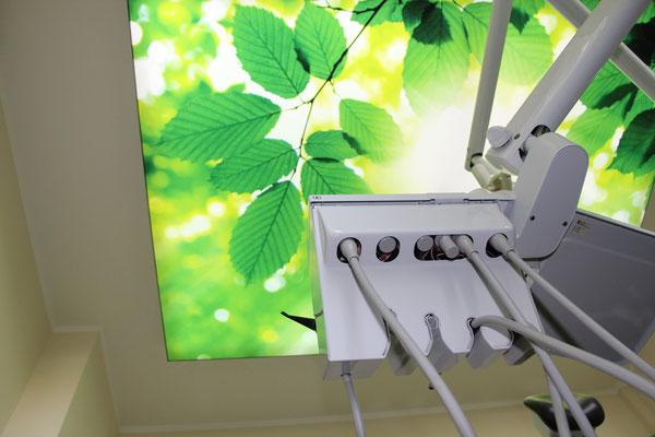 Zahnarztpraxis Deckenbilder 2 Dr. Grünberg