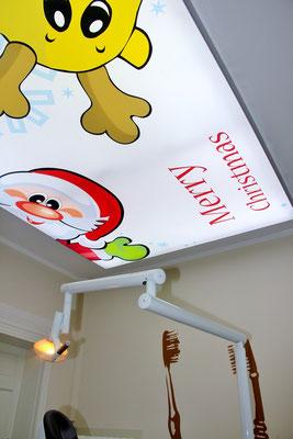Weihnachtsmotiv Zahnarztpraxis Dr. Grünberg