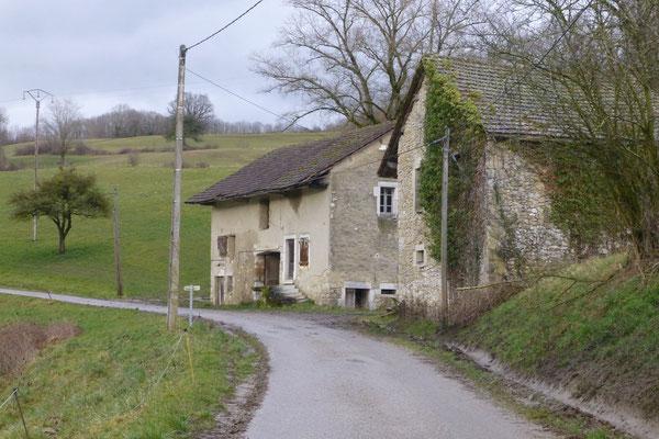 Une partie du hameau de Moucherin en 2015. (Photo Jl Sartre)