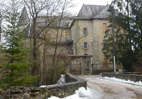 Château de Lornay. Propriété Bastian ou habitera à partir de 1869, Félix Bastian neveu du colonel. Photo JL Sartre