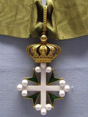 Décoration de St Maurice et St Lazare.