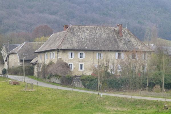 """La maison de Vilette où vivait """"la tante de Vilette"""", une soeur du beau-frère Michaud du colonel.  (Photo Jl Sartre 2015)."""
