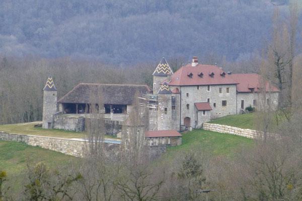Le château de Pelly en 2015. Le château abrite quelques chambres d'hôtes. Photo Jl Sartre