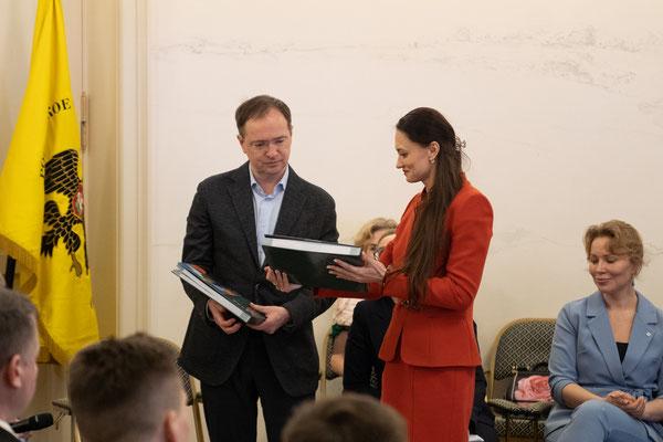 Клуб лидеров по продвижению инициатив бизнеса, РВИО, Музей военной истории, подписание соглашения о сотрудничестве, 2 апреля 2021