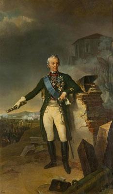 Н.-С. Фросте. Портрет фельдмаршала А. В. Суворова (1834), х., м., ГЭ / Pic. 3. N.-S. Frost. Portrait of Field Marshal A. V. Suvorov (1834), oil on canvas, GE.