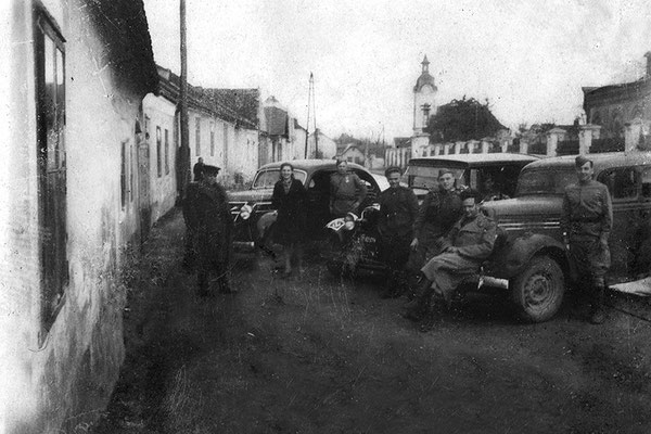 5 пмбр, Красная Армия, Австрия, апрель 1945