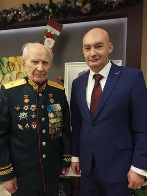 Тюшкевич Степан Андреевич (100 лет 25.12.2017). Кикнадзе Владимир Георгиевич