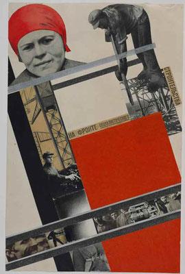 Клуцис Г. Г. На фронте социалистического строительства. 1928 г.