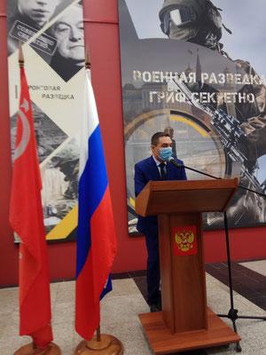 Военная разведка, гриф секретно, выставка, Музей Победы, Эльдар Янибеков, 2020