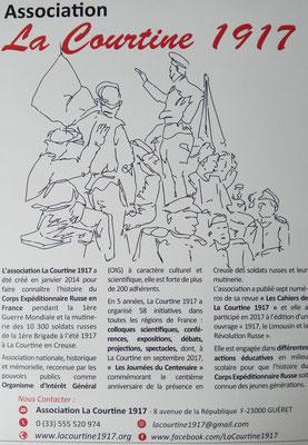 Ассоциация Ля Куртин 1917 / Association La Courtine 1917