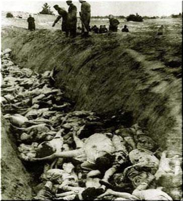 Багеровский ров, Керчь, Крым, Россия, 1942 г. / Bagerovsky moat, Kerch, Crimea, Russia, 1941 - 1942, WWII