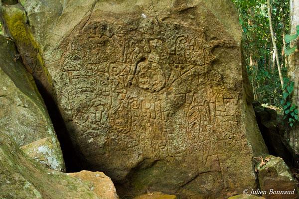 Pétroglyphes (Montagne de Kaw, le 15/10/2016)