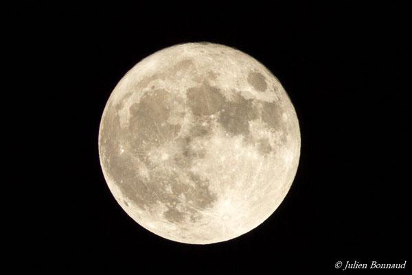Super lune du 14 novembre 2016 depuis Tarbes (65), France