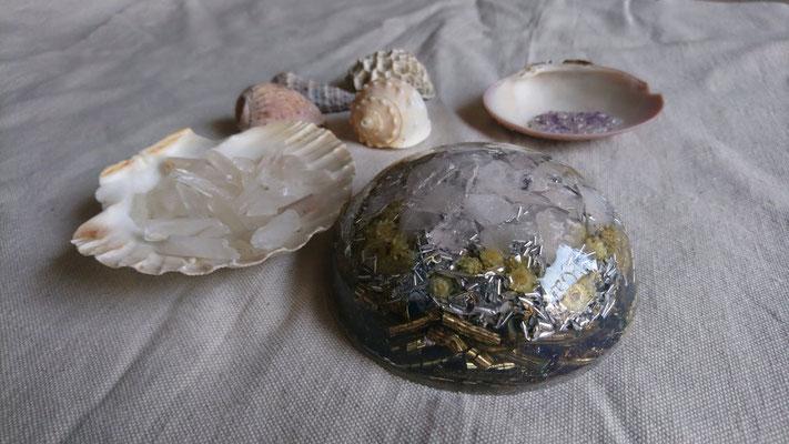 orgonite quartz rose
