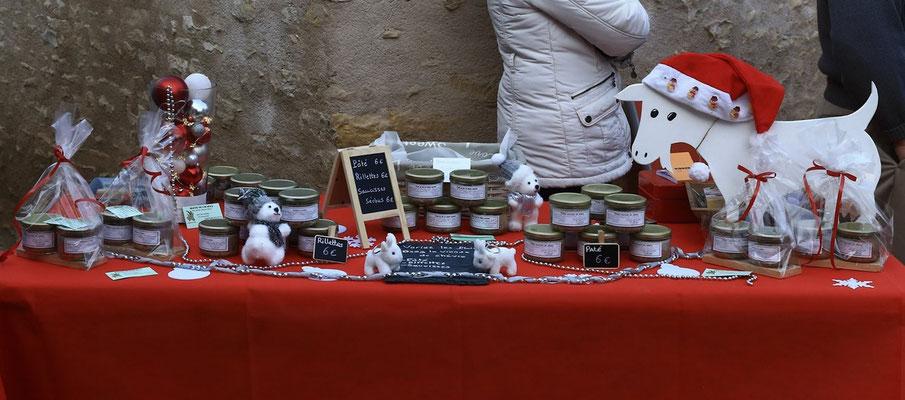 La viande de chèvre : rillettes, pâté et saucissons - produit local des Deux-Sèvres