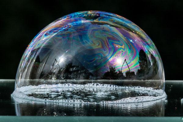 Seifenblase - Foto: Hans Dieckmeyer