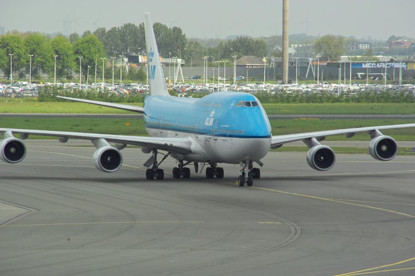 Boeing 747-400 Baujahr 1990, © Andreas U.