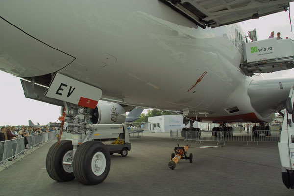 Fahrwerk eines Airbus A380 © Andreas U.