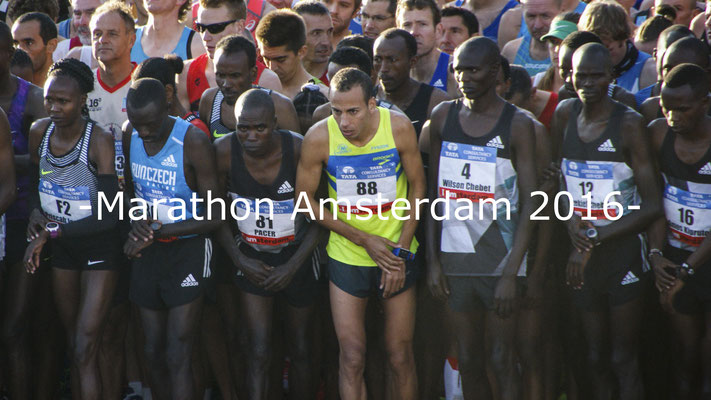 Marathon Amsterdam 2016