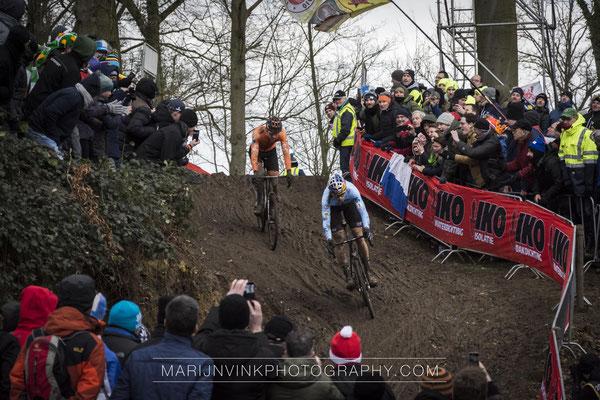 WC Cyclocross, Wout van Aert and Mathieu van der Poel
