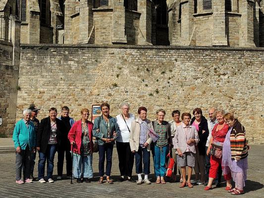Photo de groupe dans le soleil!