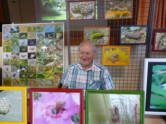 Michel Ménard, spécialiste de la vie des papillons et des insectes