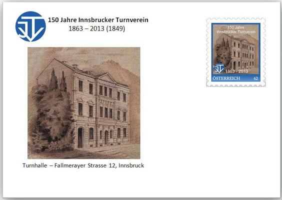 Brief: 2  Fallmerayerstraße 12 - Innsbruck