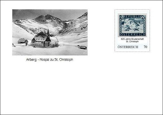 Kuvert 2 mit der personalisierten Briefmarke