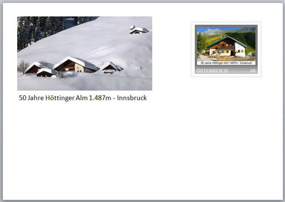 Bild 3 Höttinger Alm - Winter