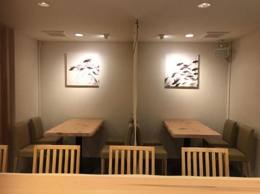 テーブル席 アートパネル【鯉】