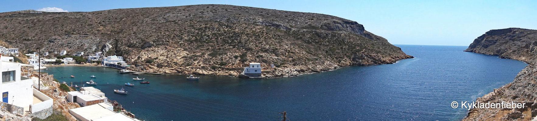 Sifnos Bucht von Cheronissos