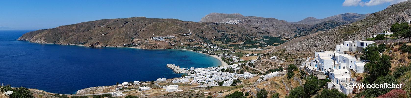 Amorgos Bucht von Ägiali