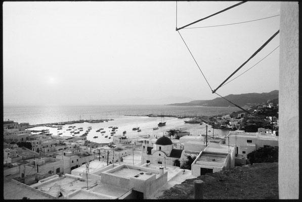 Mykonos, Blick auf den alten Hafen