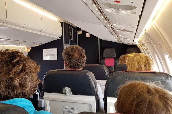 Flug nach Naxos