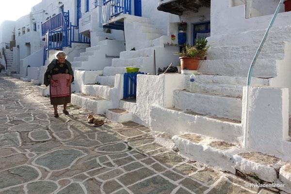 Folegandros, Kastro
