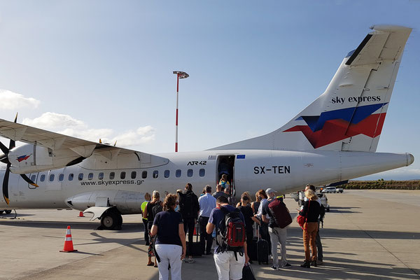 Sky Express in Athen