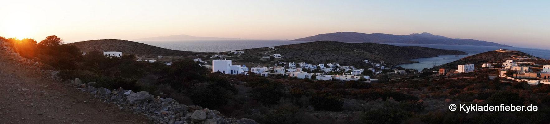 Iraklia, Blick auf Agios Georgios