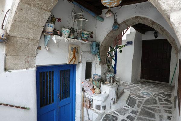 In den Gassen von Naxos