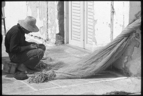 Fischer in Naoussa auf Paros