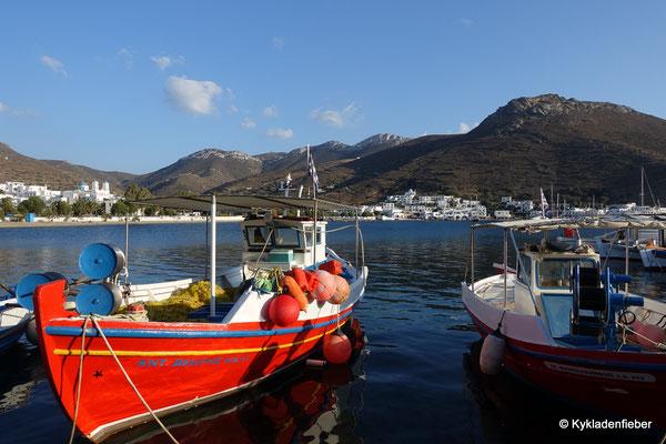 Amorgos, Blick auf Katapola