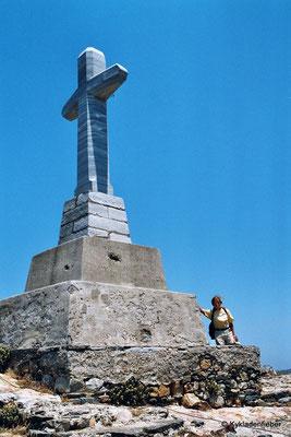 Tinos Exembourgo Gipfelkreuz