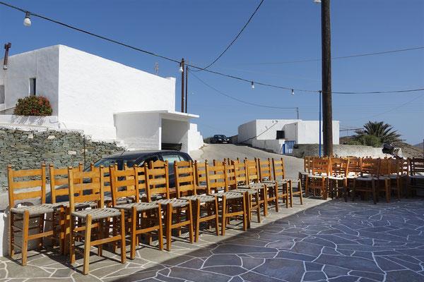 Folegandros, Taverne Iliovasilema, Ano Meria