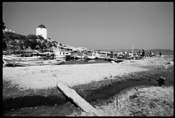 Der alte Fischerei-Hafen von Paros