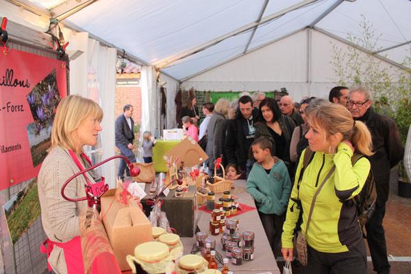 Patricia Béal propose une mariage entre chocolat et safran