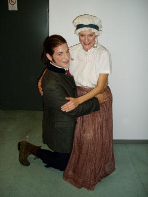 Kristian Lucas und Jessica Fendler