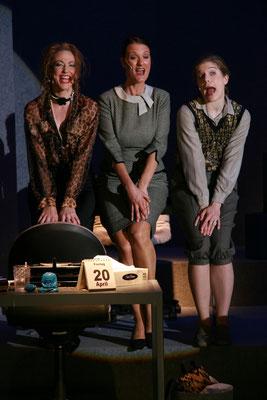 v.l. Cornelia Schönwald, Jessica Fendler, Tini Prüfert