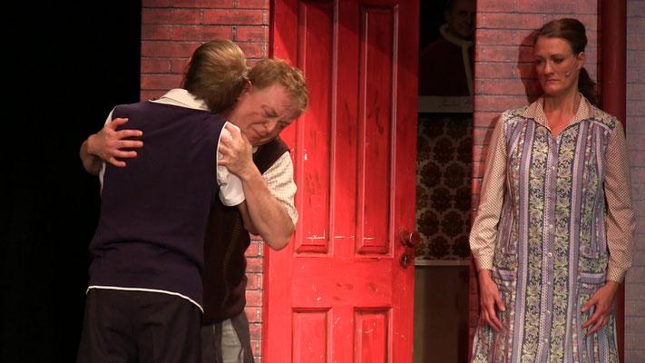 Markus Kloster als Eddi und Bernd J. Arend als Mickey