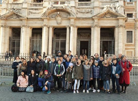 Visita alla Basilica di Santa Maria Maggiore in Roma