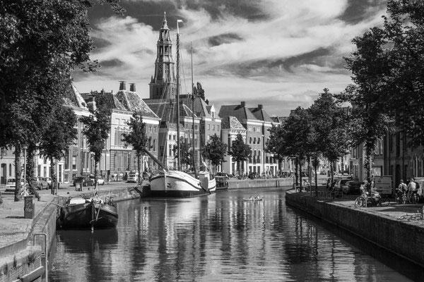 """Am """"A""""-Kanal, Groningen."""