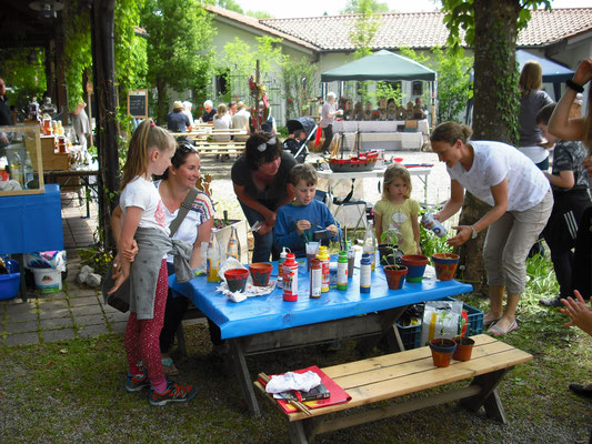 Kinderprogramm beim Maimarkt im Zellerpark 2018
